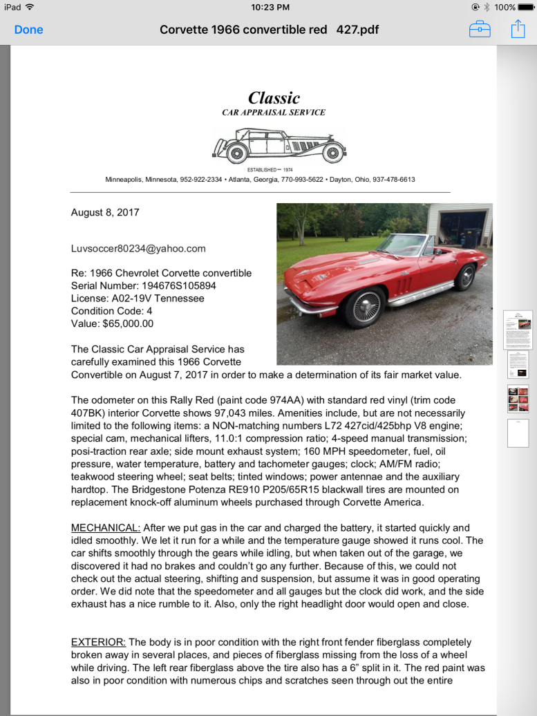 Corvette Trader.com used Corvettes for sale