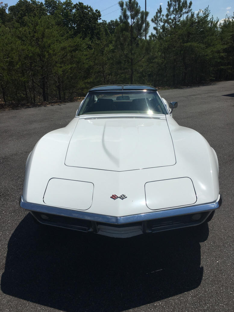 1969 corvette stingray 350 matching numbers white with tan interior 4 speed hurst shifter new bf goodrich red line tires rally wheels t tops - Corvette Stingray 1969 White