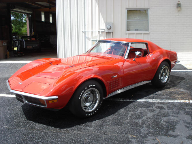 1971 Corvette Ls6 The Only Steel Head For In Country Recent Complete Body Off Restoration Over 35000 00 New Parts